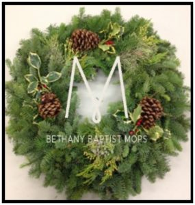 MOPS Wreath Fundraiser @ Bethany Baptist Church | Salem | Oregon | United States